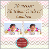 Montessori Matching Cards of Children