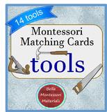 Montessori Matching Cards of Tools