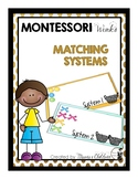 Montessori Matching Systems
