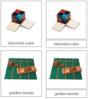 Montessori Materials: 3-Part Cards