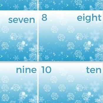 Montessori Math Card Counters