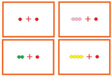 Montessori Math - Addition 1 using short beads