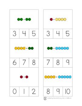 Montessori Math Bead Bar Printable Pack Bundle in Print