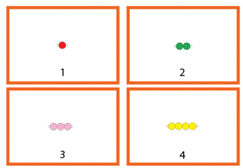 Montessori Math - Beads 1-10