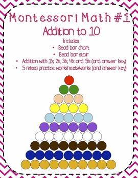 Montessori Monday Madness Montessori Math Bundle By Whole Hearted  Montessori Monday Madness Montessori Math Bundle By Whole Hearted Teaching