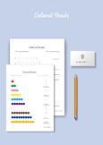Montessori Math - Colored Beads 1-10