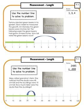 Montessori Math Command Cards - 2nd Grade Bundle