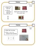 Montessori Math Command Cards / 2nd Grade / set 1 of 4