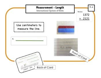 Montessori Math Command Cards / 2nd Grade / set 2 of 4