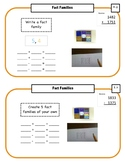 Montessori Math Command Cards / 2nd Grade-Fact Families&More / set 2 of 4