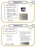 Montessori Math Command Cards / 2nd Grade / set 3 of 4