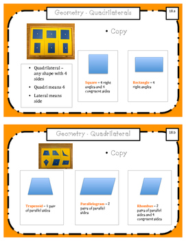 Montessori Math Command Cards / 2nd Grade / set 4 of 4