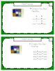 Montessori Math Command Cards / 3rd Grade / Set 3 of 4