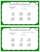 Montessori Math Command Cards / 3rd Grade / Set 4 of 4