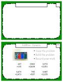 Montessori Math Command Cards / 3rd Grade / Set 4 of 4