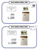 Montessori Math Command Cards / 1st Grade / set 2 of 5