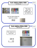 Montessori Math Command Cards / 1st Grade-Measurement / set 3 of 5