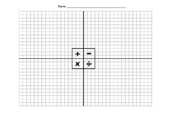 Montessori Math Graph Paper