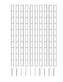 Montessori Math Number Rods Printable