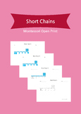 Montessori Math - Short Chains 1~9 and 100 Chain