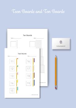 Montessori Math - Teen Boards and Ten Boards