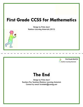 Montessori Math and Common Core Requirements: First Grade