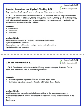 Montessori Math and Common Core Requirements: Second Grade