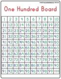 Montessori Math #s Tracing 1-100 (One hundred Board) small.