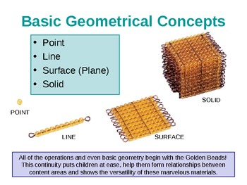 Montessori Math/Geometery Philosophy and Rationale