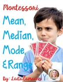 Montessori Mean, Median, Mode, And Range