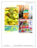 Montessori  Mexico Bundle Cooking and Art Lessons Pre-K Primary Continent
