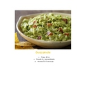 Montessori Mexico Pre-K Elementary Cooking Guacamole Visual Recipe Reggio