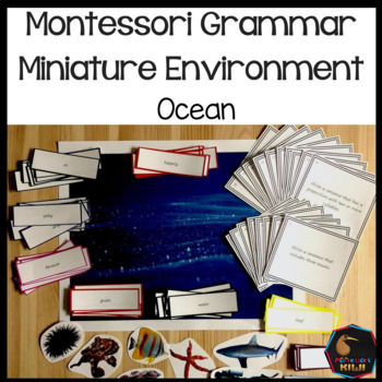 Montessori Miniature Environment: Ocean