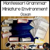Montessori Miniature Environment: Ocean
