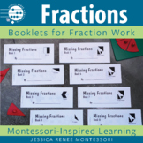 Complete the Missing Fractions with Montessori Booklets