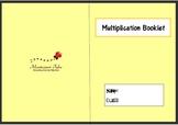 Montessori Multiplication Booklet