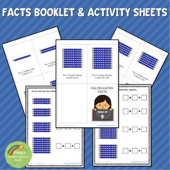 Montessori Multiplication Table of 9