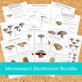 Montessori Mushroom BUNDLE