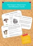 Montessori Mushroom Identification Cards PDF