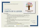 Montessori Nomenclature: Parts of a Lever