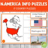 Montessori North America Country Facts Puzzles