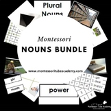 Montessori Nouns Activities
