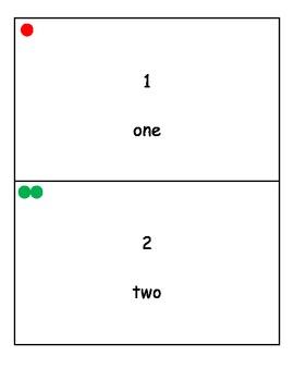 Montessori Number Cards 1-20