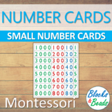 Montessori: Small Number Cards/Place Value Cards