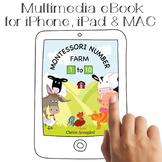 Montessori Number Farm | Numbers 1 - 10 | Multimedia eBook