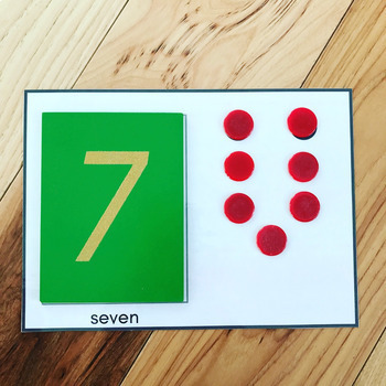 Montessori Number Mat Printables