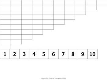 Montessori: Number Rods