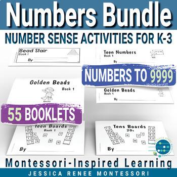 Montessori Math Number Sense Activities Bundle