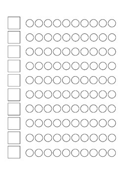 Montessori Numbers - Cards and Counters Colouring Sheet (Printable)