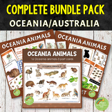 Montessori Oceania Animals Complete BUNDLE Pack